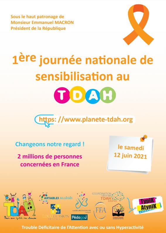 1ère journée nationale de sensibilisation au TDAH